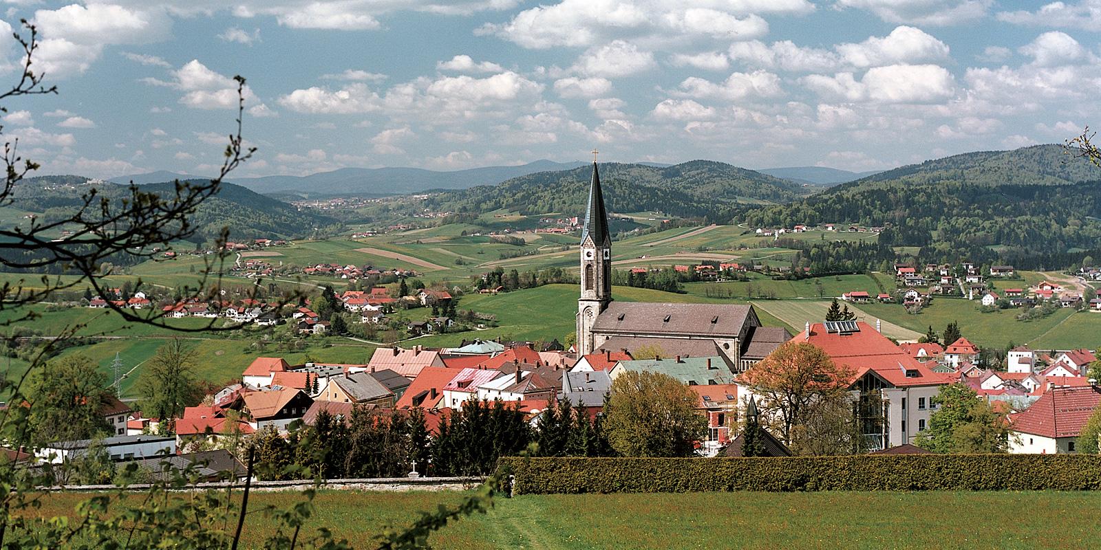 Sehenswürdigkeiten rund um Waldkirchen