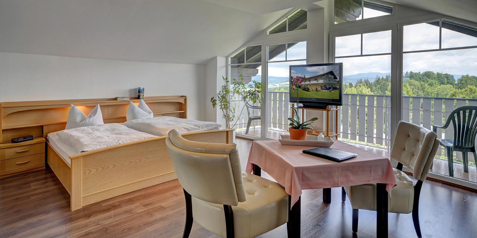Pension Schuster in Bayern mit schönen Gästezimmer